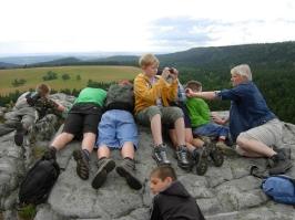Wakacje w Górach Stołowych, lipiec 2012