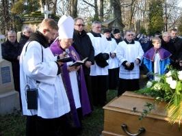 12 grudnia 2013r. - Pogrzeb ks. Antoniego Bobaka