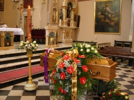Pogrzeb ks. A. Bobaka
