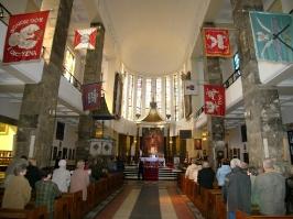 w kościele św. Stanisława Kostki na Zoliborzu
