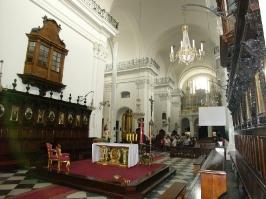 w kościele św. Krzyża