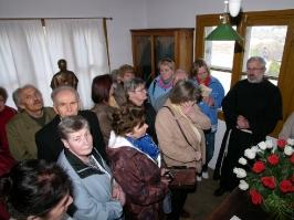 w celi św.Maksymiliana Kolbego