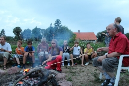 ognisko w Bysławku