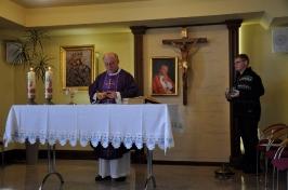 Msza św. w Domu Pielgrzyma