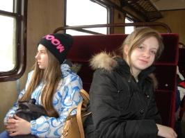 w pociągu do Wadowic