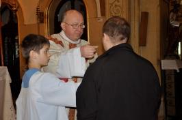 Msza św. u Ojców Karmelitów