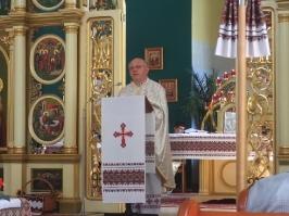 homilia ks. Bogdana w cerkwi w Olsztynie