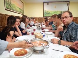 obiad w Bęsi