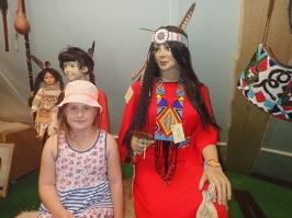Ewa wśród Indian w Wymysłowie