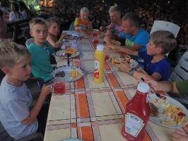 kolacja w Bysławku