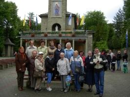 Stowarzyszenie na wycieczce w Szczyrku w 2013 roku